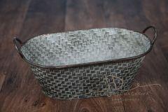 Vanička zinková vzorovaná