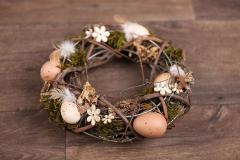 Věnec jarní - velikonoční přírodní