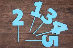 Zápich číslo 2 - modrá