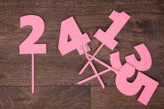 Zápich číslo 2 - růžová
