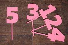 Zápich číslo 5 - růžová