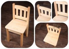 Židlička dětská - borovicová