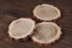 Plát dřevěný kulatý