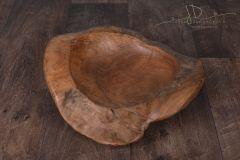 Dřevěná mísa dlabaná teak