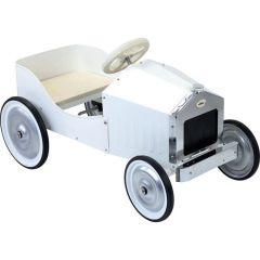 Kovové šlapací auto bílé VILAC