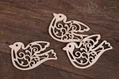 Dřevěná ozdoba - ptáček