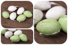 Dekorační vajíčka - zelená - 6ks