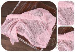 Wrap pleteninka růžový
