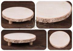 Tác - podnos dřevěný 25cm