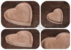 Tác - podnos srdce 32x32cm