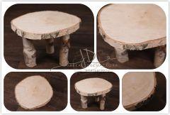 Stoleček - stolička z břízy