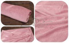 Wrap pružný s proužkem růžový 150x30cm