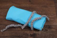 Wrap pružný úplet 150x30cm + zavazovací čelenka 11