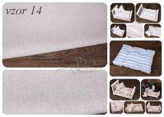 Matrace + polštářek do newborn postýlek - vzor 14