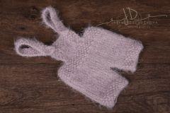 Kalhotky newborn pletené s kšandami