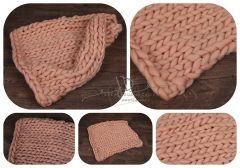 Podložka pletená MERINO 50x50cm