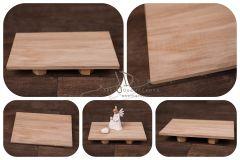 Stojan - podnos dřevěný 25x15cm