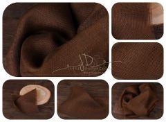 Podložka - kobereček juta hnědá 32x32cm