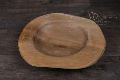 Dřevěná teak mísa velká 40cm