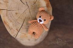 Háčkované zvířátko - medvídek 1
