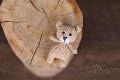 Háčkované zvířátko - medvídek 2