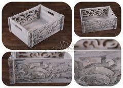 Bedýnka dřevěná ornament
