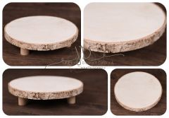 Tác - podnos dřevěný 20cm