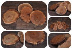 Plát dřevěný dubový - tác/podnos střední