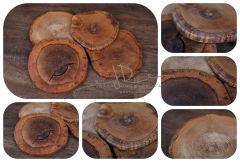 Plát dřevěný dubový - tác/podnos velký