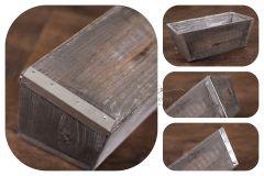 Truhlík - bedýnka dřevěná s oplechováním