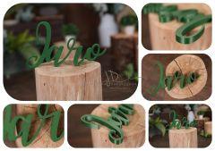 Nápis JARO zelený MAXI
