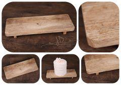 Podnos -  tác dřevěný