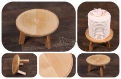 Podnos - stoleček dřevěný