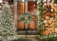 Vánoční fotopozadí - DESIGN 843