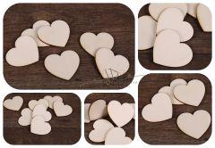 Srdíčko dřevěné 5cm