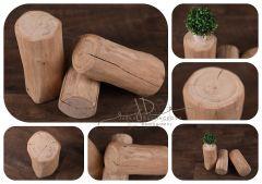 Dubový špalek dekorační - stoleček/stolička/podnos 9-15cm/30cm