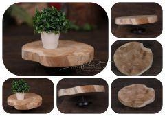 Tác - podnos - stoleček  - dřevěný