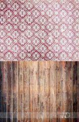 Fotopozadí - vánoční tapeta s hnědou podlahou 4