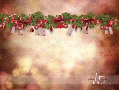 Fotopozadí - Vánoce - GIRLANDA 2
