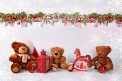 Fotopozadí aranžované vánoční 11