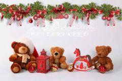 Fotopozadí aranžované vánoční 1