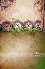 Fotopozadí - stěna+podlaha - KLUK Z FARMY