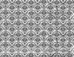 Fotopozadí - DAMAŠEK - bílý s černým vzorem