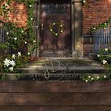 Okna a dveře jarní spojené