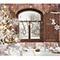 Vinyl fotopozadí  vánoční okna, pokoje a krby