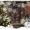 Vánoční a zimní fotopozadí