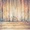 Spojené - vzor dřeva - stěna i podlaha